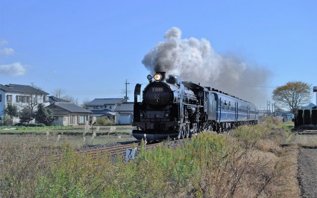 C62機関車
